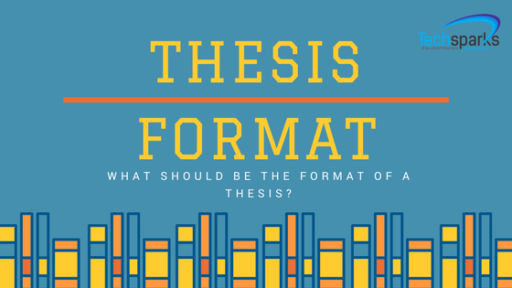 Thesis formatting help