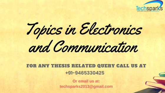 M. tech Thesis Guidance in Chandigarh