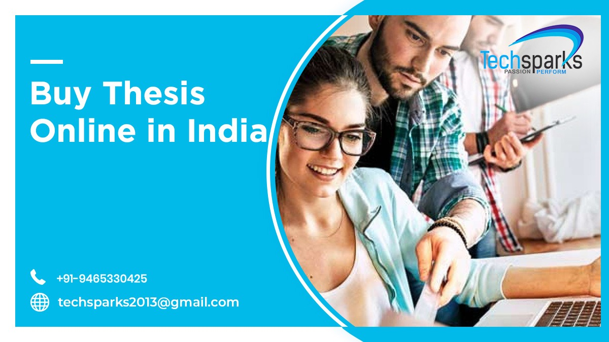 Buy M. tech Thesis online in Chandigarh, India