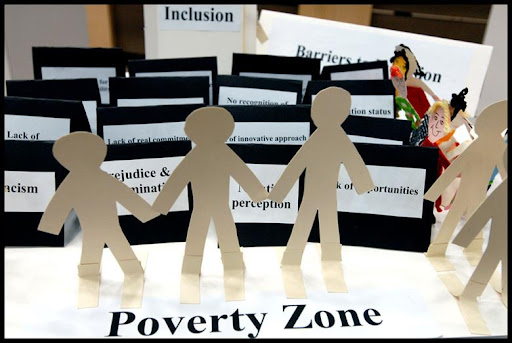 Resources and Education for People below Poverty Line